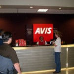 Avis in the Denver Airport