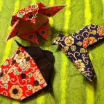 Origami Sample: Penguin, Song Bird, Ladybug