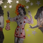 Cafe Olla wall of dancing women