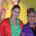 Frida and Frida at Cafe Olla