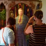 Diego Rivera shrine at Cafe Olla