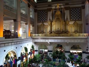 Organ pipes in Macy's (Wanamaker Building)