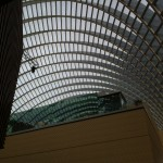 Roof grid of Kimmel Center