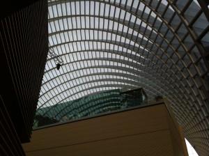 Roof grid of Kimmel Center