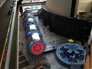 Time travel tunnel installed at the Kimmel Center