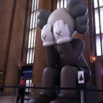 COMPANION art installation by KAWS at 30th Street Station