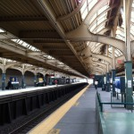 SEPTA stops at 30th Street Station, Philadelphia