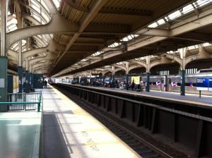 SEPTA stops at 30th Street Station, Philadelphia