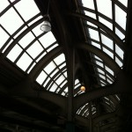 Roof at SEPTA stops at 30th Street Station, Philadelphia